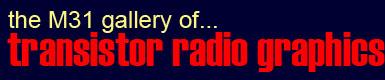 Transistor Radio Graphics and Advertising